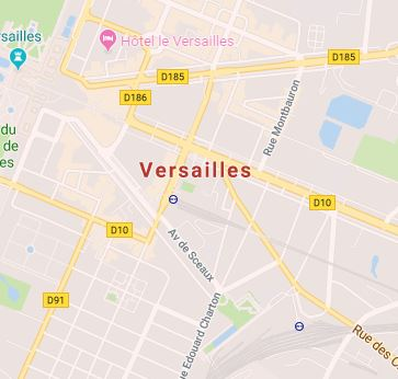 Carte Versailles